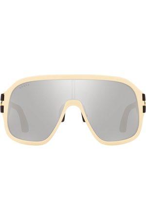 Gucci Man Solglasögon - GG0663S mask-frame sunglasses