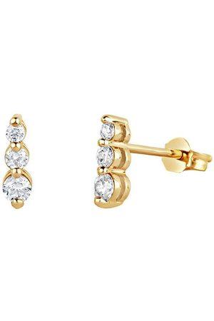 Dinny Hall Diamantörhängen i 14K gult