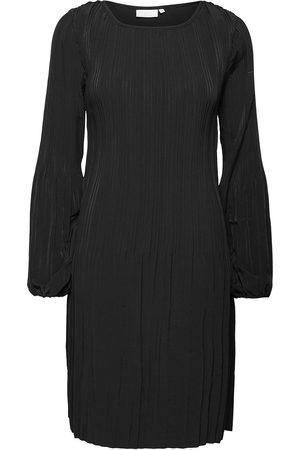 Coster Copenhagen Kvinna Midiklänningar - Dress W. Pleats Knälång Klänning