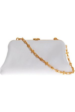 Tory Burch Cléo - Nappa leather bag with coin purse