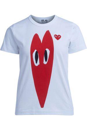 Comme des Garçons Stretch heart T-shirt