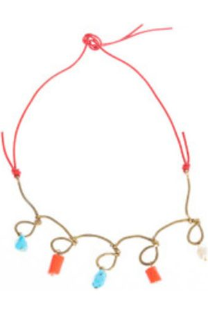 Marni Colorful fancy necklace with stone details