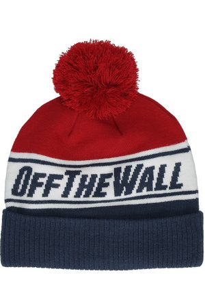Vans Off The Wall Pom Beanie dress blues/chili pepper
