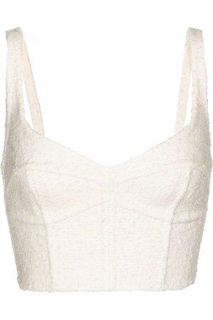 Marc Jacobs Kvinna Korsetter - Wool-blend corset bra