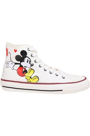 MOA MASTER OF ARTS Sneakers in fabric with mickey mouse print