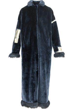 Fortini Long Gustav faux fur coat