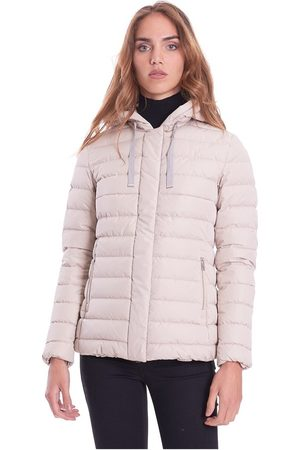 add Short Down Jacket With Mastic Hood