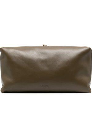 Jil Sander Padded design clutch bag