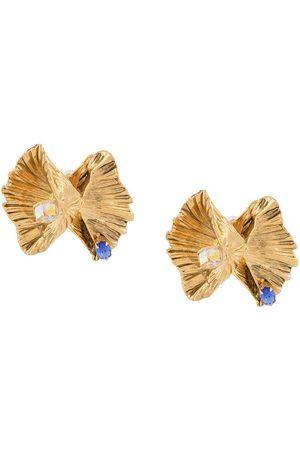 Saint Laurent Heritage clipsörhängen med snäckdesign