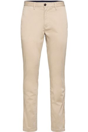 Tommy Hilfiger Core Straight Chino Gmd Flex Casual Byxor Vardsgsbyxor Beige