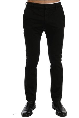 Costume National Slim Fit Cotton Stretch Pants