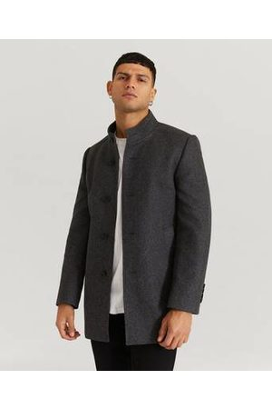 Pour Man Trenchcoats - Rock Stand Up Collar Coat