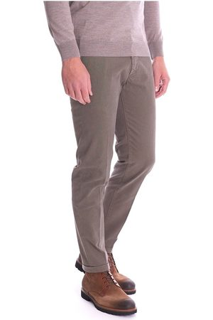 RE-HASH Mucha Microfantasy Trousers With Turn-Up