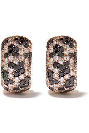 LEO PIZZO Leopard diamantörhängen i 18K roséguld