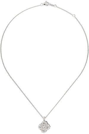 LEO PIZZO Vortex diamanthalsband i 18K vitguld