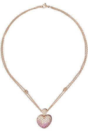 LEO PIZZO Amore diamanthalsband i 18K roséguld
