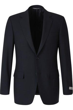 CANALI Straight Wool Blazer