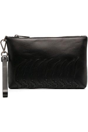 Alexander McQueen Zip-up wash bag