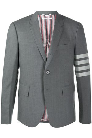 Thom Browne Four-Bar fitted blazer