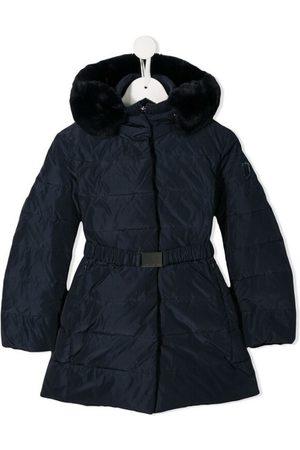 MONNALISA FUR Belt Coat