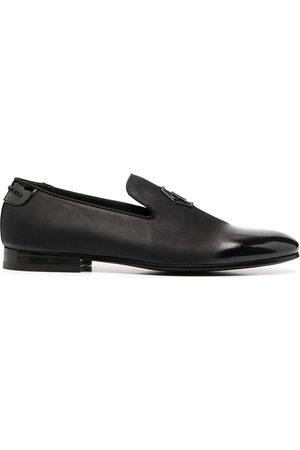 Philipp Plein Loafers med strass