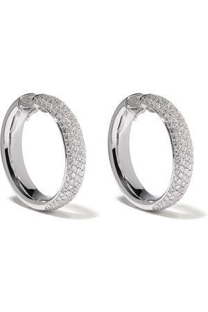 LEO PIZZO Diamantörhängen i 18K vitguld