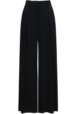 The Row Avril Stretch Cady Wide Leg Pants