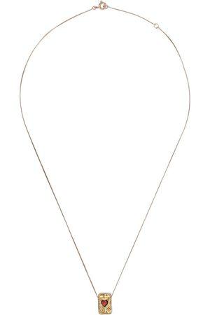 Pascale Monvoisin L'amour halsband i 9K rosé- och gult guld