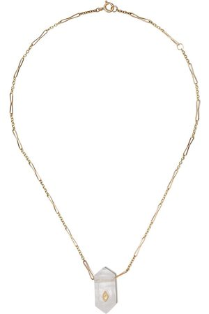 Pascale Monvoisin Prana Nº1 diamanthalsband i 9K gult
