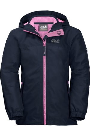 Jack Wolfskin Flicka Vinterjackor - Girls Iceland 3in1 Jacket