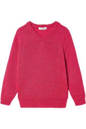 Twin-Set Maxi V-Neck Sweater