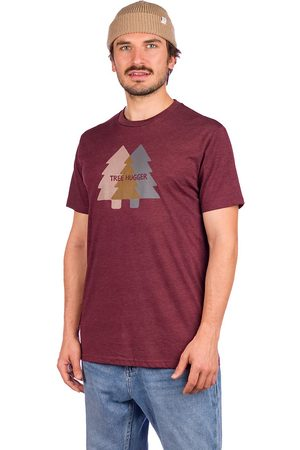 tentree Tree Hugger Classic T-Shirt red mahogany