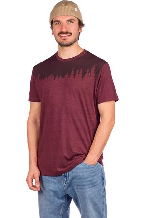 tentree Junniper Classic T-Shirt red mahogany heather
