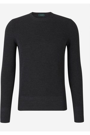ZANONE Man Stickade tröjor - Jersey Flex-wool Sweater