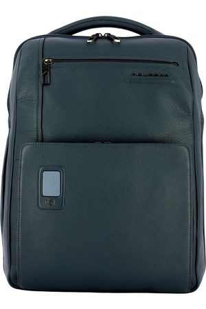 Piquadro Man Laptopfodral - Akron 15.6 Large PC Backpack with Rfid