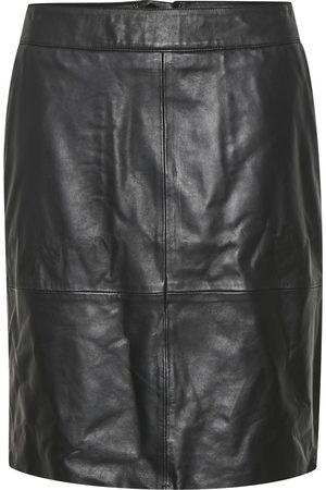 Culture CUberta Leather Skirt