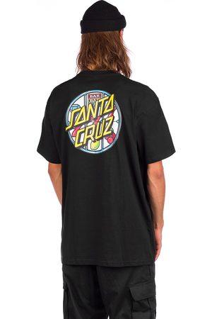 Santa Cruz Man Kortärmade - Jackpot Dot T-Shirt black