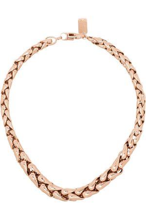 Lauren Rubinski Kvinna Halsband - 14kt rose gold chain-link necklace
