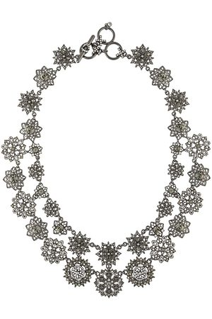 Marchesa Halsband med strassblomma