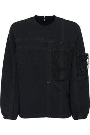 McQ Foam Cotton Sweatshirt W/ Pockets