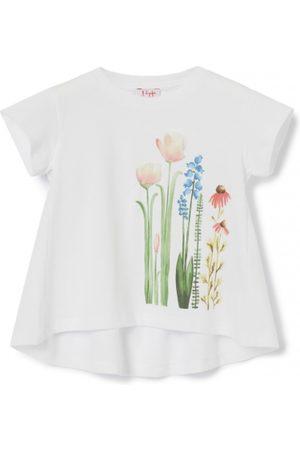 Il gufo Voulan Flowers T-Shirt