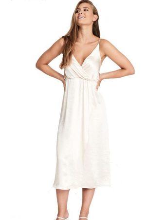 Dry Lake Aster Satin Dress
