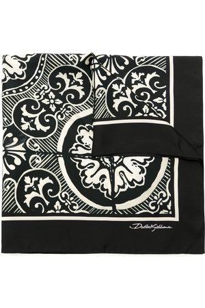 Dolce & Gabbana Sidensjal med tryck