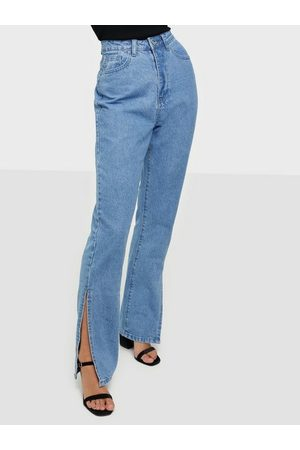 Missguided Extreme Split Jeans Straight