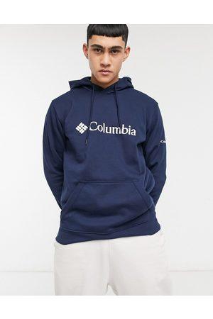 Columbia – CSC Basic – Marinblå huvtröja med logga