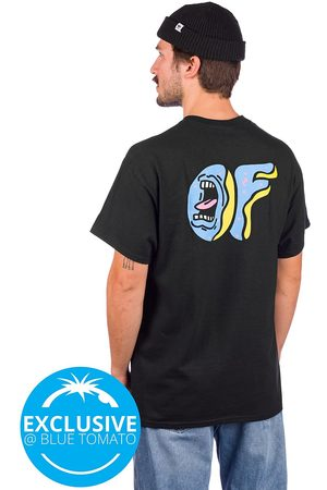 ODD FUTURE X Santa Cruz Screaming Donut T-Shirt black