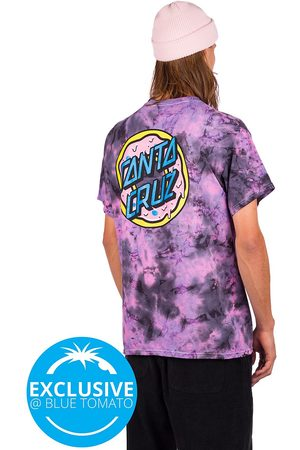 ODD FUTURE X Santa Cruz Donut T-Shirt purple tie dye