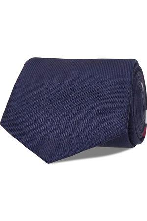AN IVY Navy Signature V Flag Tie Slips