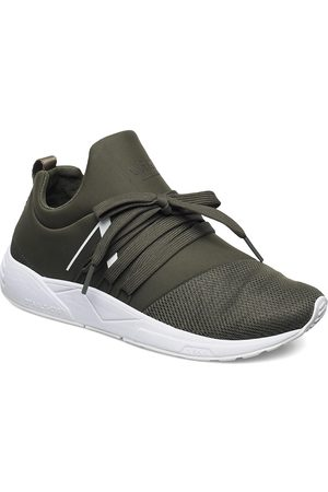 Arkk Copenhagen Kvinna Sneakers - Raven Mesh Pet S-E15 Dark Army Whit Låga Sneakers