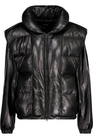 Isabel Marant Kvinna Skinnjackor - Malory padded leather jacket